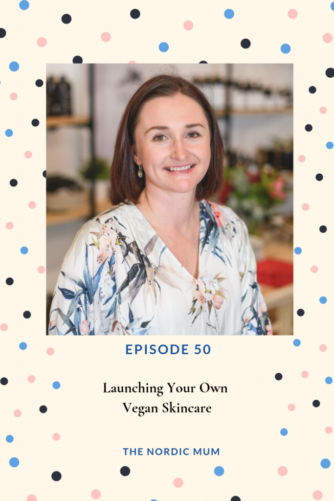 Renee Tilley from Paudhahealing on Nordic Mum Podcast Cover