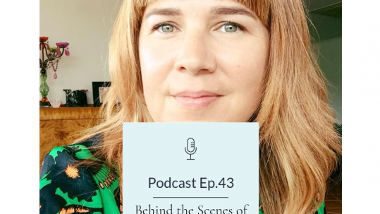 Karly Nimmo smiling Nordic Mum Podcast Cover